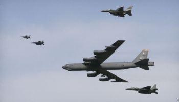 Air Force Responds to North Korean Nuke Test