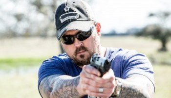 "The ""Lone Survivor"" Marcus Luttrell Surprised At SHOT Show by Charity Donation"