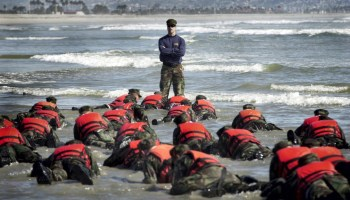 Navy Admiral looking to boost female SEAL recruits