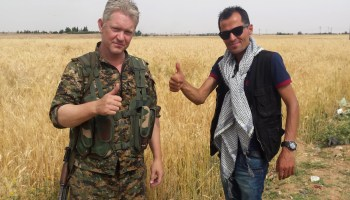 Foreign volunteer drama in Kurdistan