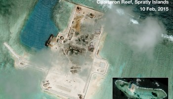 New Radar Erected On Chinese Artificial Island?