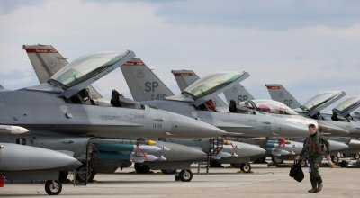 USAF, HAF Conduct Training At Souda Bay