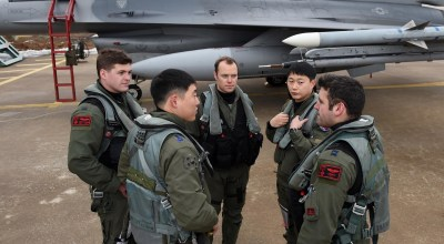 """South Korea, USAF Combine Forces During """"Buddy Wing"""""""