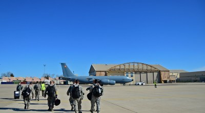 KC-135s Support French Air Operations In Africa