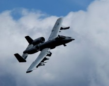 An A-10 Thunderbolt II prepares for a strafing run May 29 on the Pacific Alaska Range Complex in Alaska. The A-10 is assigned to the 355th Fighter Squadron from Eielson Air Force Base, Alaska. The 355th FS is tasked to provide mission ready A-10s as well as search and rescue capability in Alaska and deployed sites worldwide. (U.S. Air Force photo/Airman 1st Class Jonathan Snyder)