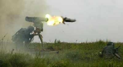 Iraqi troops attack ISIS with guided missiles