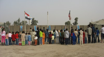 Spending Time with the Boy and Girls Scouts in Iraq