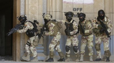 Watch Iraqi special operations hazing