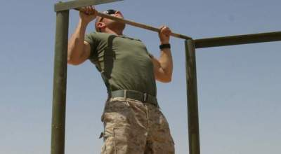 Marine Corps tips on increasing your pullups