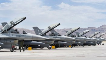 DSCA: Sale Of Block 52 F-16Cs To Pakistan Approved
