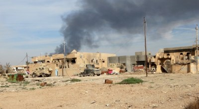 ISIS militant's home blown up by Iraqi forces
