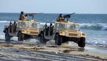 Photos of U.S. Navy SEALs in action