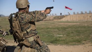 Marine Corps hosts 10-day intramural shooting competition