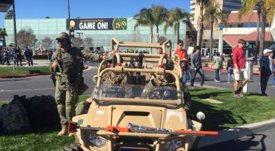 Military presence behind Super Bowl security success