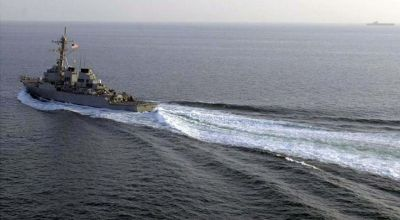 U.S. ship draws attention from Chinese claimed island