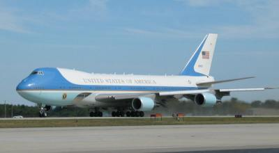 Air Force One being serviced by company with Saudi links