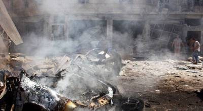 Car bomb reported to have killed dozens of Russian officers in Syria