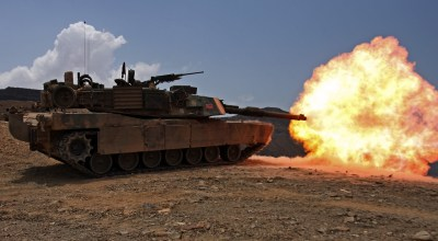 Ever wondered what it's like to fire rounds from inside a tank?