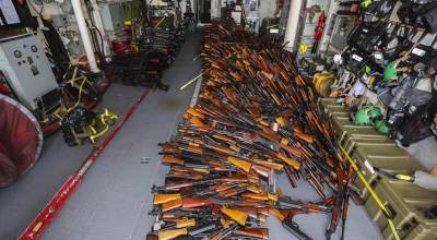 Weapons seized by Australia may have come from Iran, intended for Houthis
