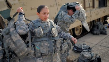 How opening combat arms to women makes war cool again