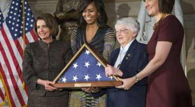 First Lady asks female veterans to share their stories