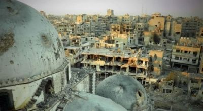 Watch: Drone footage shows you the devastation of the Syrian war