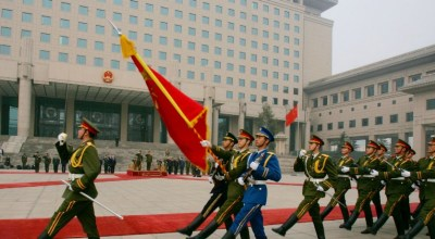 Chinese military budget slowing down