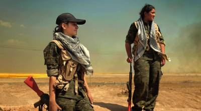 Meet the YPJ Kurdish female fighters who are taking up arms against ISIS