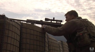 Watch: Snipers improve their skills with long-range precision fire training