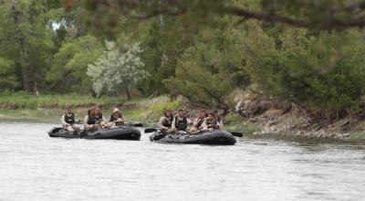Marines and their go-anywhere inflatable Zodiacs