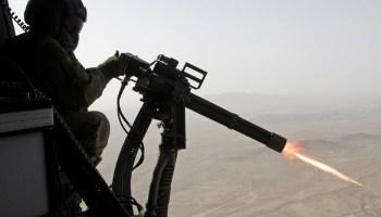 Marine door-gunner training: Machine-gun heaven