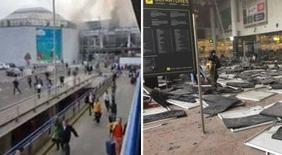 Brussels attacks: 34 die in 2 explosions at Brussels Airport, 1 at subway station