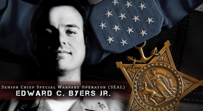 Watch: Interview with Navy SEAL Edward Byers after his Medal of Honor ceremony