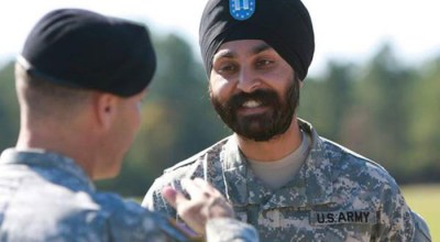 U.S. Army being sued by Sikh over beard, turban hassle