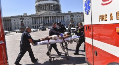 Alleged Capitol gunman charged in shooting incident