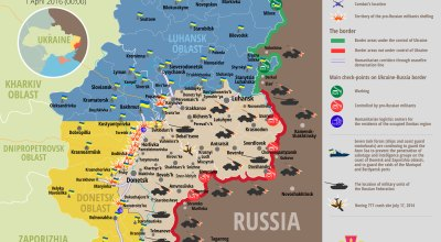 65 Russian-separatist attacks against Ukraine in just 24 hours
