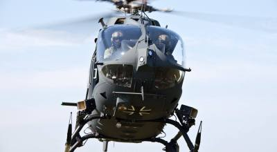 Watch: German special operations' new Airbus helicopter
