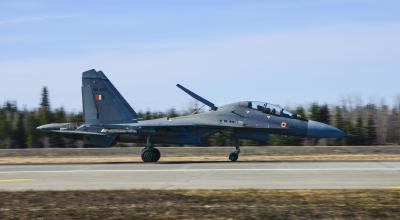 Indian Air Force Taking Part In Red Flag-Alaska