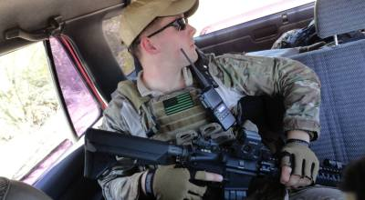 The time one young Marine went hunting drug cartels on the Mexican border