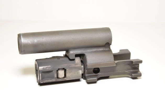 Heart of the MP5, The rotating bolt head. Rollers clearly seen