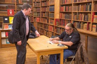 Photo gallery: First SOFREP Book Club event with former SEAL Team Six commander Richard Marcinko