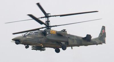 Watch: Russian Ka-52 attack helicopters provide close air support for the Syrian Army
