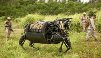 Military Robots: LS3