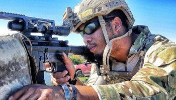 "Watch: Army Ranger Sniper Nick Irving ""the Reaper"" put rounds down range"