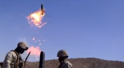 Watch: What Happens When a USMC 120mm Mortar Cooks-Off in the Tube