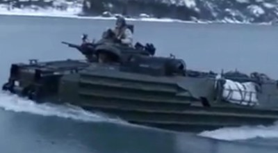 Watch: American and NATO Forces in Norway for Cold Response