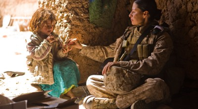 Corps Receives First Infantry Request from Female Marine