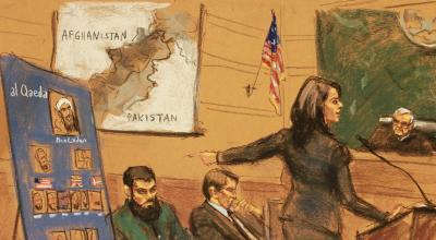 Al Qaeda suspect awaits trial, warned 'war is not over'