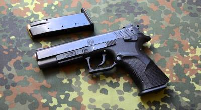Eagle Imports Grand Power P11: Totally Ambidextrous 9mm Combat Pistol
