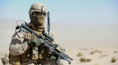 This Navy Cross recipient just won an award named for one of the baddest Marines ever